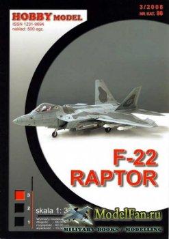 Hobby Model №98 - F-22 Raptor