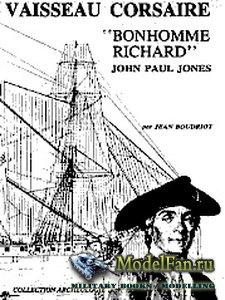A Privateer's Vessel Le Bonhomme Richard 1779
