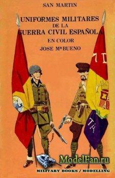 Uniformes Militares de la Guerra Civil Espanola en color (José Mar&#23 ...
