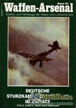 Waffen Arsenal - Band 151 - Deutsche Sturzkampfbomber Ju 87 im Einsatz