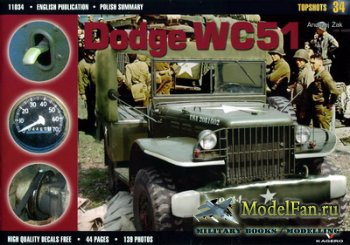 Kagero Topshots 34 - Dodge WC51