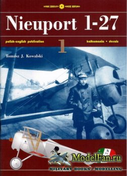Kagero Slynne Samoloty 1 - Nieuport 1-27