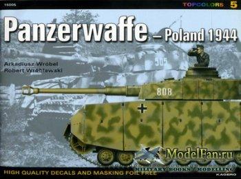 Kagero TopColors 5 - Panzerwaffe - Poland 1944