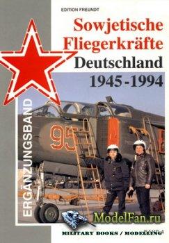 Sowjetische Fliegerkräfte Deutschland 1945-1994 (Band 4)