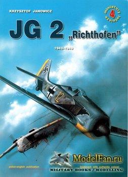 Kagero Miniatury Lotnicze 4 - JG2