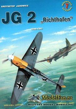 Kagero Miniatury Lotnicze 7 - JG 2