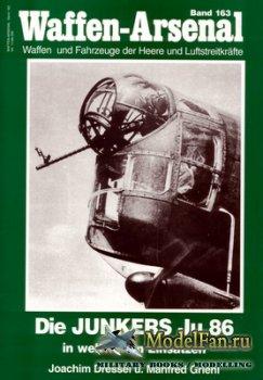 Waffen Arsenal - Band 163 - Die Junkers Ju 86 in Weltweiten Einsatzen