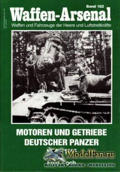 Waffen Arsenal - Band 182 - Motoren und Getriebe Deutscher Panzer 1935-1945