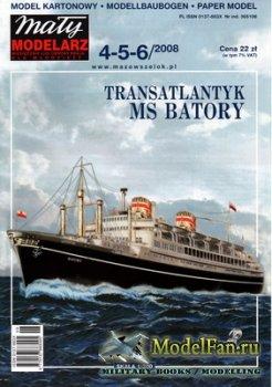 Maly Modelarz №4-5-6 (2008) - Transatlantyk MS Batory