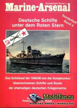Marine-Arsenal - Sonderheft Band 4 - Deutsche Schiffe unter dem Roten Stern