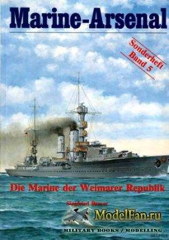 Marine-Arsenal - Sonderheft Band 5 - Die Marine der Weimar Republik