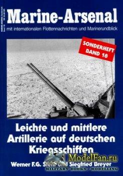 Marine-Arsenal - Sonderheft Band 18 - Leichte und Mittlere Artillerie auf D ...