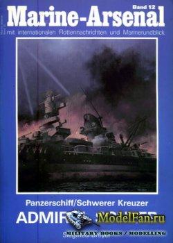 Marine-Arsenal - Band 12 - Panzerschiff/Schwerer Kreuzer Admiral Scheer