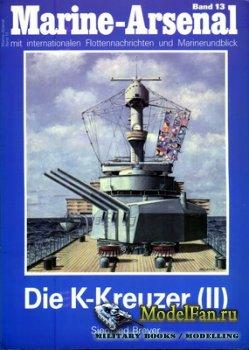 Marine-Arsenal - Band 13 - Die K-Kreuzer (II)