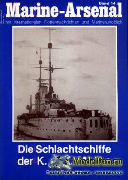 Marine-Arsenal - Band 14 - Die Schlachtschiffe der K.u.K. Marine