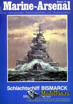 Marine-Arsenal - Band 15 - Schlachtschiff Bismarck