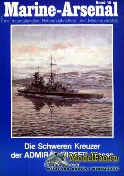 Marine-Arsenal - Band 16 - Die Schweren Kreuzer der Admiral Hipper-Klasse