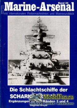 Marine-Arsenal - Band 24 - Die Schlachtschiffe der Scharnhorst-Klasse