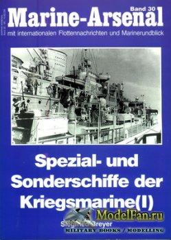 Marine-Arsenal - Band 30 - Spezial- und Sonderschiffe der Kriegsmarine (I)