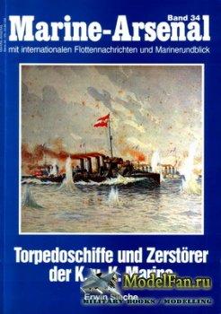 Marine-Arsenal - Band 34 - Torpedoschiffe und Zerstorer der K.u.K Marine