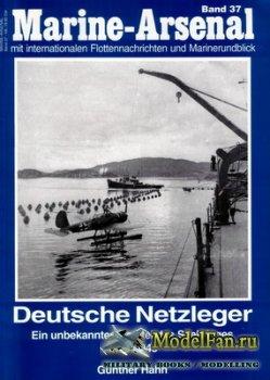 Marine-Arsenal - Band 37 - Deutsche Netzleger 1939-1945