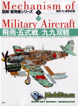 "Mechanism of Military Aircraft 2 - Type 3 ""Hien"" & Type 5 Army Fighter/Type 99 Light Bomber"