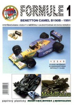 Mega Graphic - Benetton Camel B190B (1991)