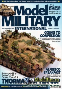Model Military International Issue 36 (April 2009)