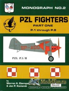 Phalanx - Monograph №2 - PZL Fighters (Part 1). P.1 through P.8