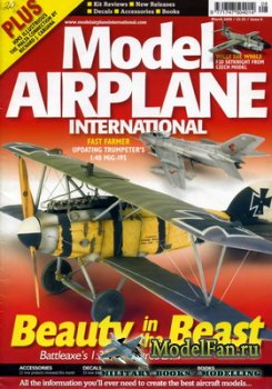 Model Airplane International №8 (March 2006)