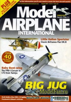 Model Airplane International №25 (August 2007)