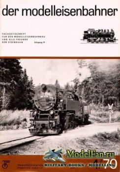 Modell Eisenbahner 4/1970