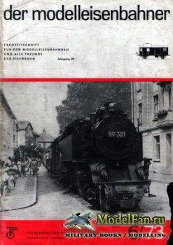 Modell Eisenbahner 6/1973