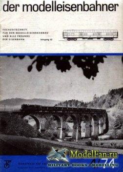 Modell Eisenbahner 4/1974