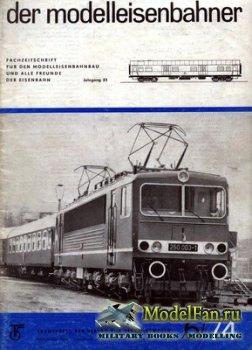 Modell Eisenbahner 6/1974