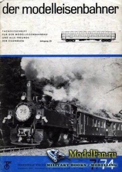 Modell Eisenbahner 7/1974