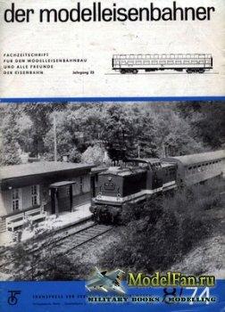 Modell Eisenbahner 8/1974