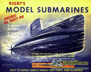 Rigby's Book of Model Submarines