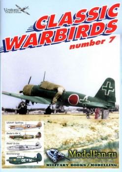 Ventura Publications (Classic Warbirds №7) - USAF Spitfire, B-24, Boomerang