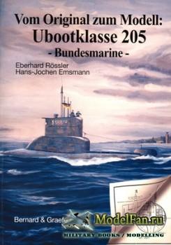 Vom Original zum Modell: Ubootrlasse 205