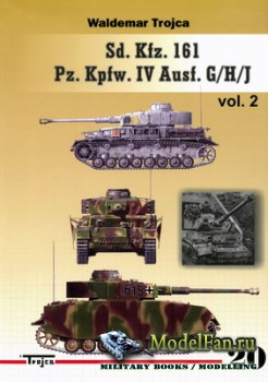 Trojca 20 - Sd.Kfz.161 Pz.Kpfw.IV Ausf. G/H/J vol. 2