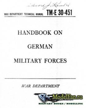 Handbook on German Forces (1945)