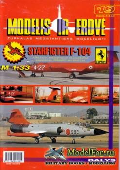 Modelis ir Erdve №19 - Starfighter F-104