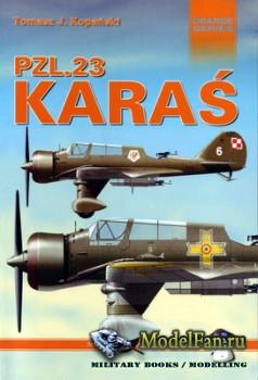 Mushroom Model Magazine Special №8101 (Orange Series) - PZL.23 Karas