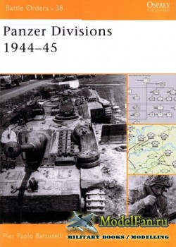 Osprey - Battle Orders 38 - Panzer Divisions 1944-45