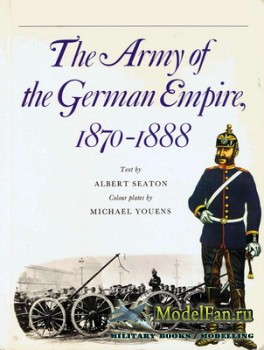 Osprey - Men-at-Arms 4 - The Army of the German Empire, 1870-1888