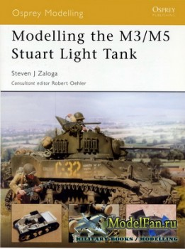 Osprey - Modelling 4 - Modelling the M3/M5 Stuart Light Tank