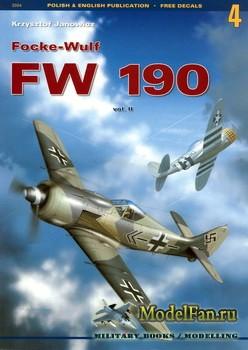 Kagero - Monografie 4 - Focke Wulf Fw 190 (Vol.2)
