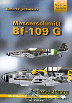 Mushroom Model Magazine Special №6101 (Yellow Series) - Messerschmitt Bf-10 ...