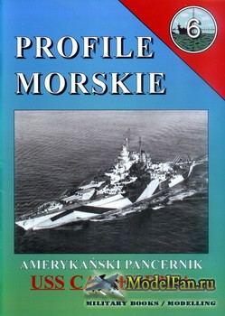 Profile Morskie 6 - Amerykanski Pancernik USS California
